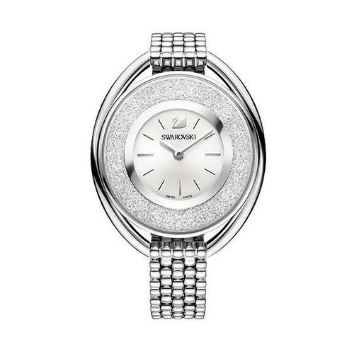 Crystalline Oval White Bracelet Watch 5181008