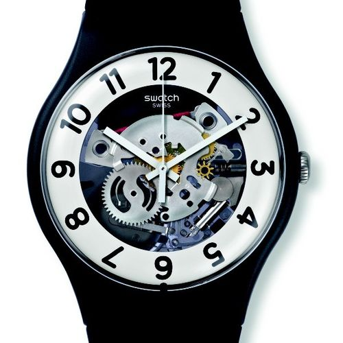 MONTRE SWATCH SUOB134 SKELETOR