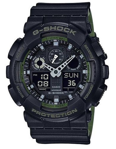 MONTRE CASIO G-SHOCK GA-100L-1AER