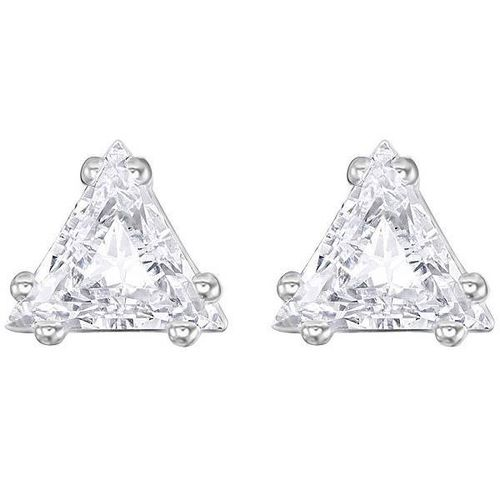 Boucles d'Oreilles Attract Triangle, Blanc 5274074