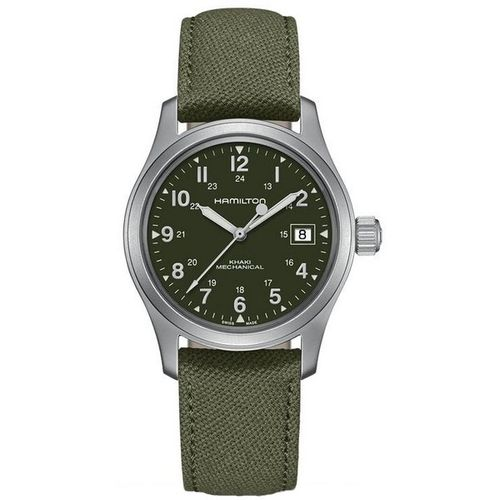 MONTRE HAMILTON KHAKI FIELD OFFICER HANDWINDING