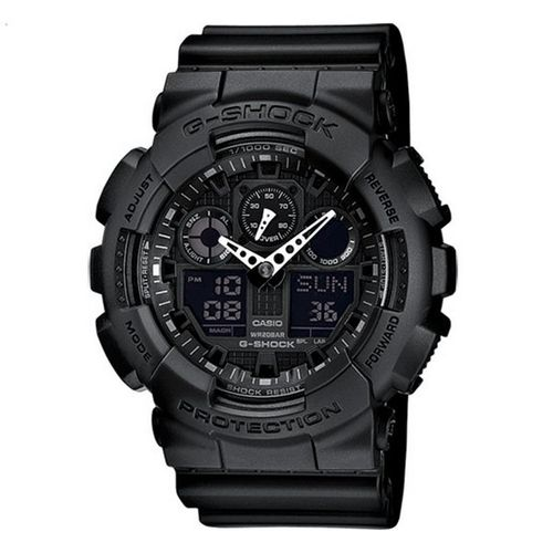 MONTRE CASIO G-SHOCK GA-100-1A1ER
