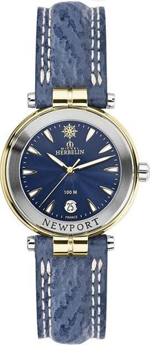 MONTRE MICHEL HERBELIN 14255/T35  NEWPORT LADY