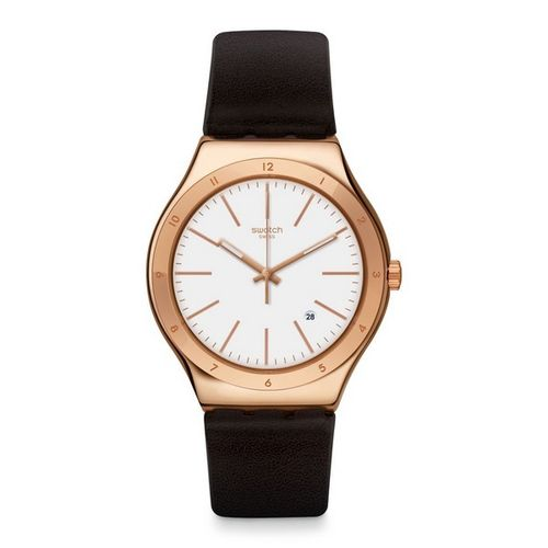 MONTRE SWATCH YWG405 TIC-BROWN
