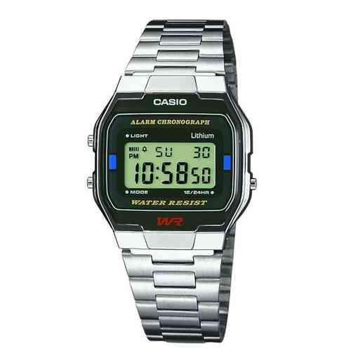 MONTRE CASIO A163WA-1QES-MIXTE