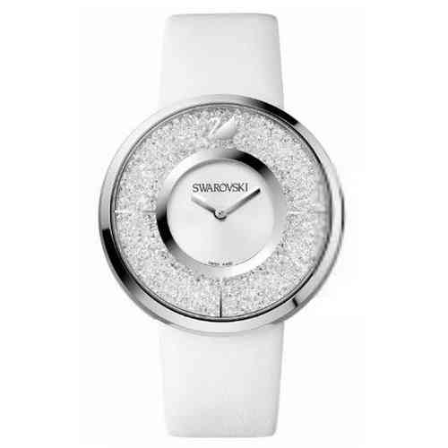 Crystalline White Stainless Steel Montre1135989