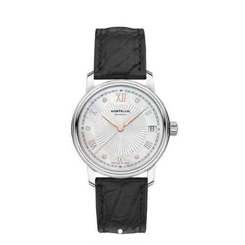 MONTRE MONTBLANC 114957 TRADITION DATE AUTOMATIC
