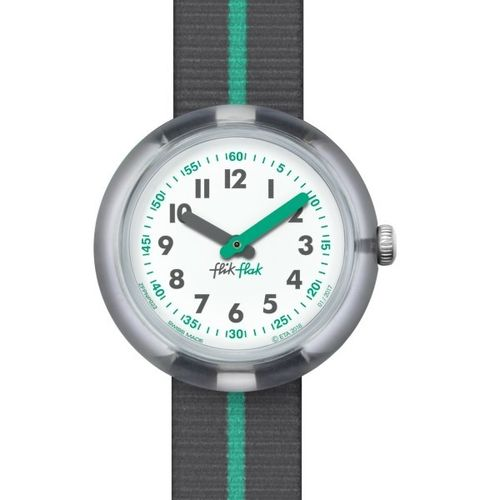 MONTRE FLIK FLAK FPNP022 GREEN BAND