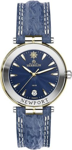 MONTRE MICHEL HERBELIN 12255/T35 NEWPORT QUARTZ