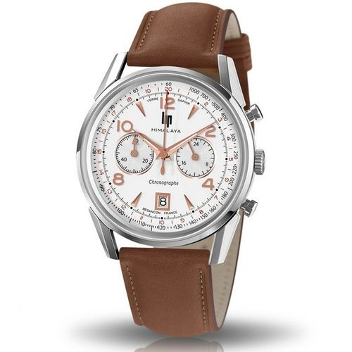 LIP HIMALAYA 40 MM CHRONOGRAPHE SAPHIR - 671594