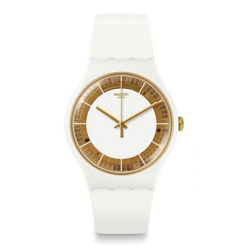 MONTRE SWATCH SUOW158 SILIWHITE