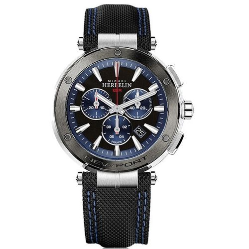 MONTRE MICHEL HERBELIN NEWPORT CHRONOGRAPHE QUARTZ