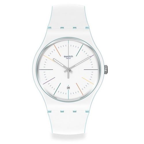 MONTRE SWATCH WHITE LAYERED