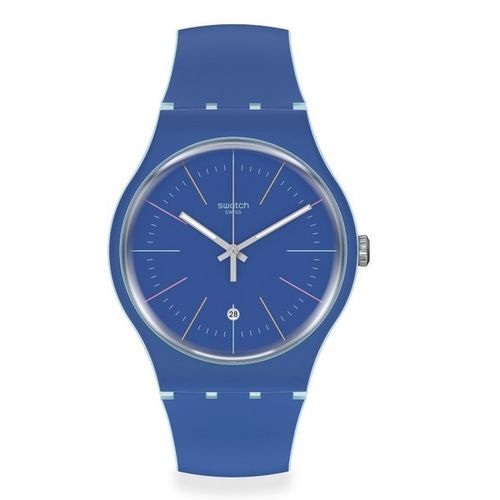 MONTRE SWATCH BLUE LAYERED
