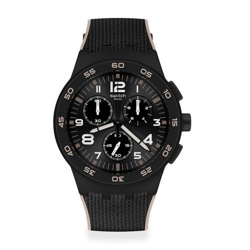 MONTRE SWATCH BLACK CORD