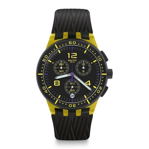 MONTRE SWATCH YELLOW TIRE