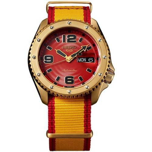 MONTRE SEIKO 5 STREET FIGHTER LIMITED EDITION